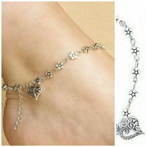 Jewelry - Flower Ankle Bracelet/Anklet